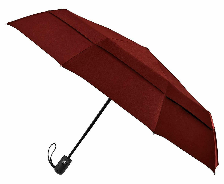 Handmade Double Open Close Black Umbrella Fast & Free