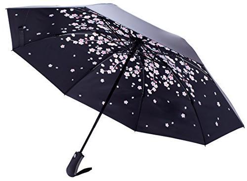 Fidus Inverted Car Travel UV Umbrella Women - Open Close