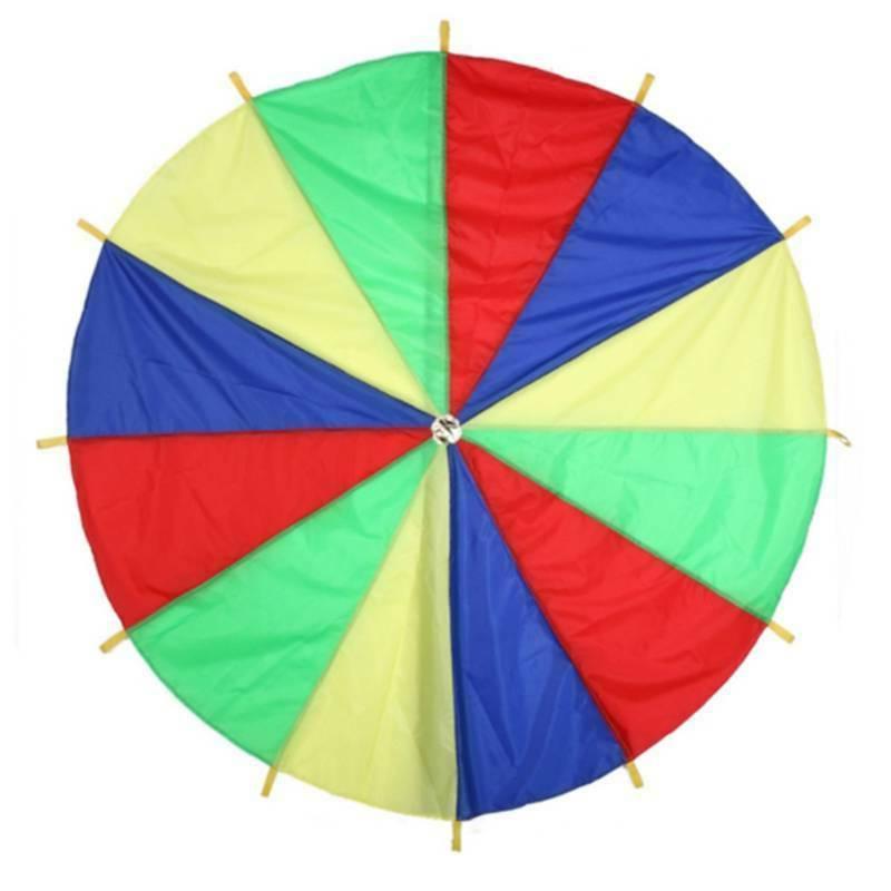 Children Outdoor Game Exercise Sport Toys Rainbow Umbrella P