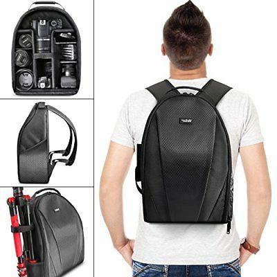 Lightweight Camera Backpack Bag for DSLR Lens Cases Weather