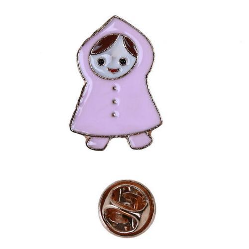 Umbrella Collar Pin Brooch For Gift