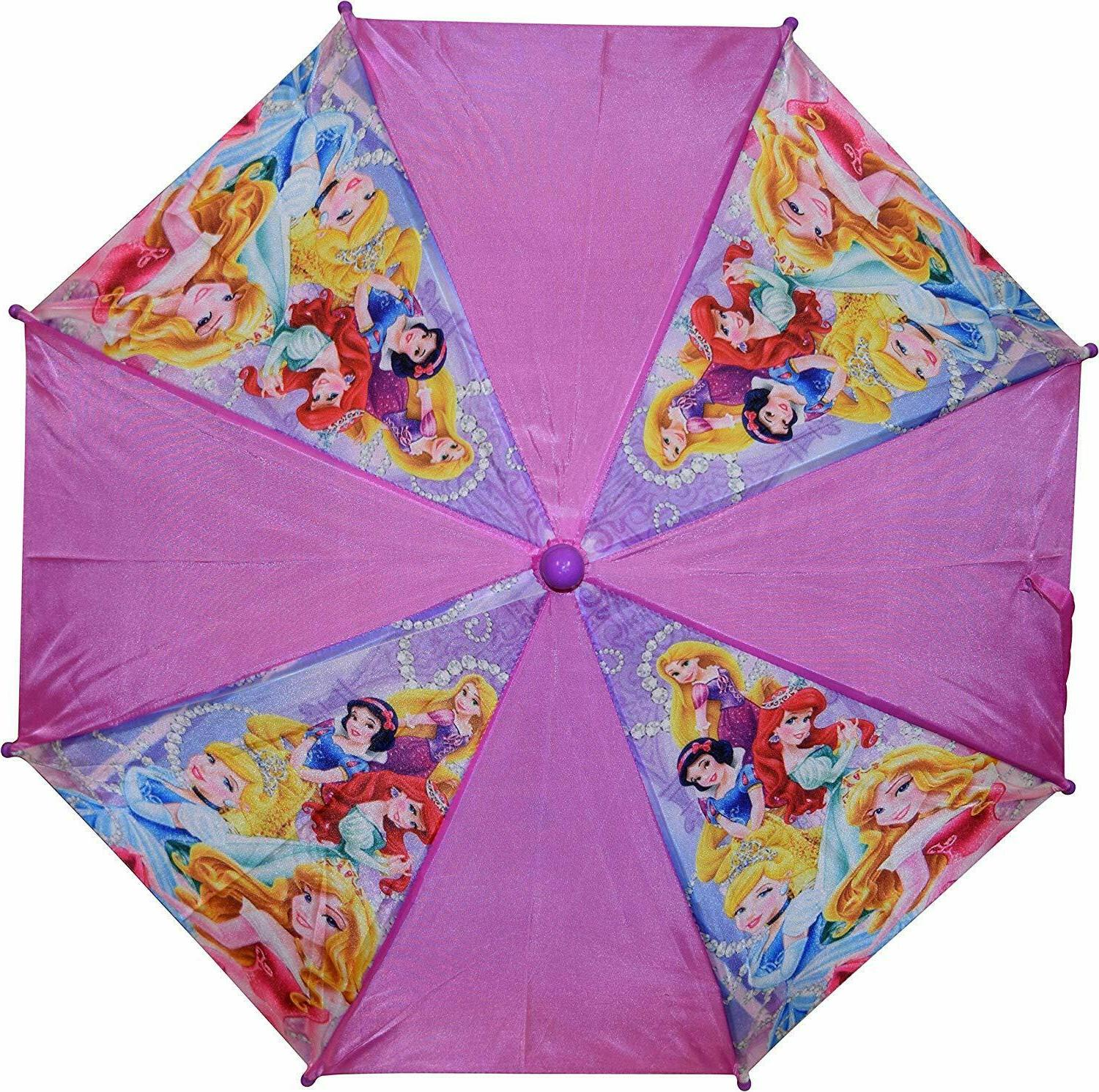 Disney Little Girls Umbrella Cute School Kids