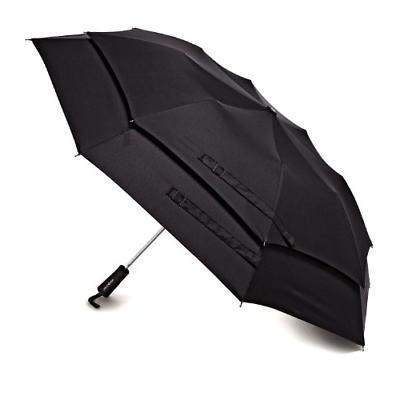 Samsonite Luggage Windguard Auto Open Umbrella, Black