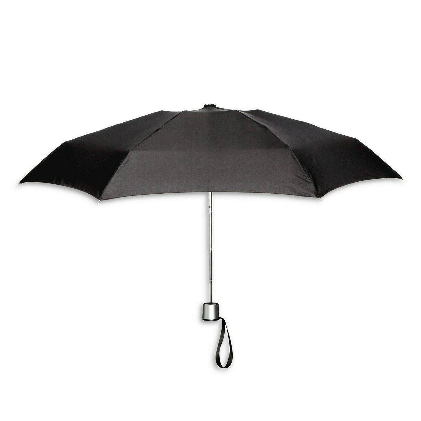 manual compact umbrella black r23