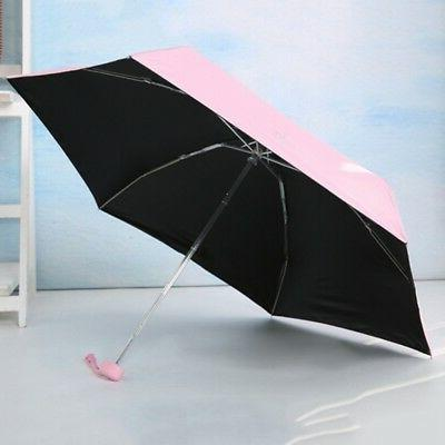 Mini 5-Folding Windproof Sun Travel Portable Small