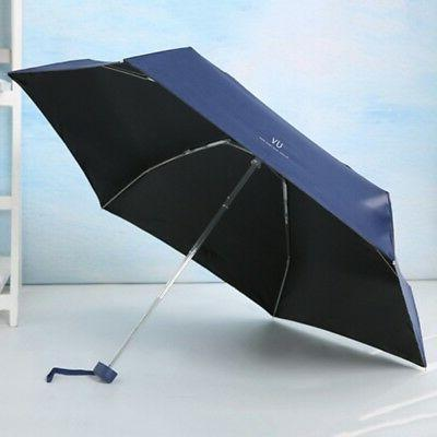 Mini 5-Folding Windproof Anti-UV Rain Travel Portable