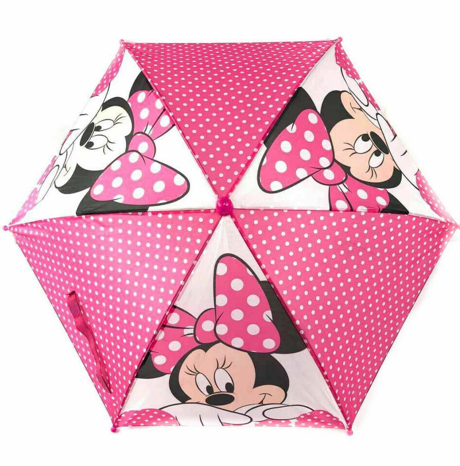 Minnie White Polka Dots Disney Umbrella