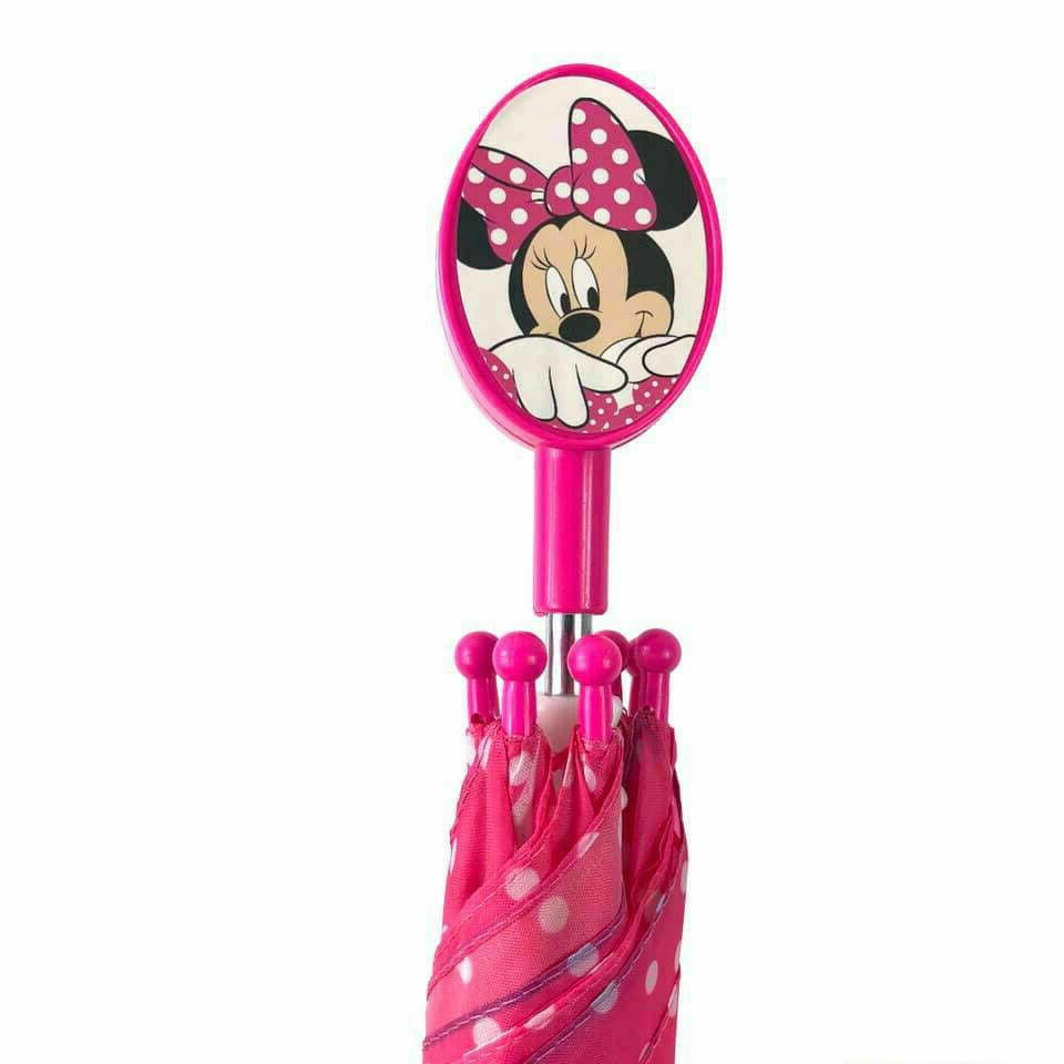 minnie mouse molded pink white polka dots