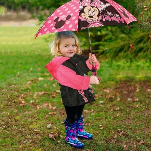 Disney Minnie Mouse Slicker and Umbrella Little Age