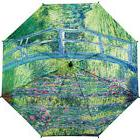 Galleria Monet Japanese Bridge Stick Umbrella - Monet Umbrel