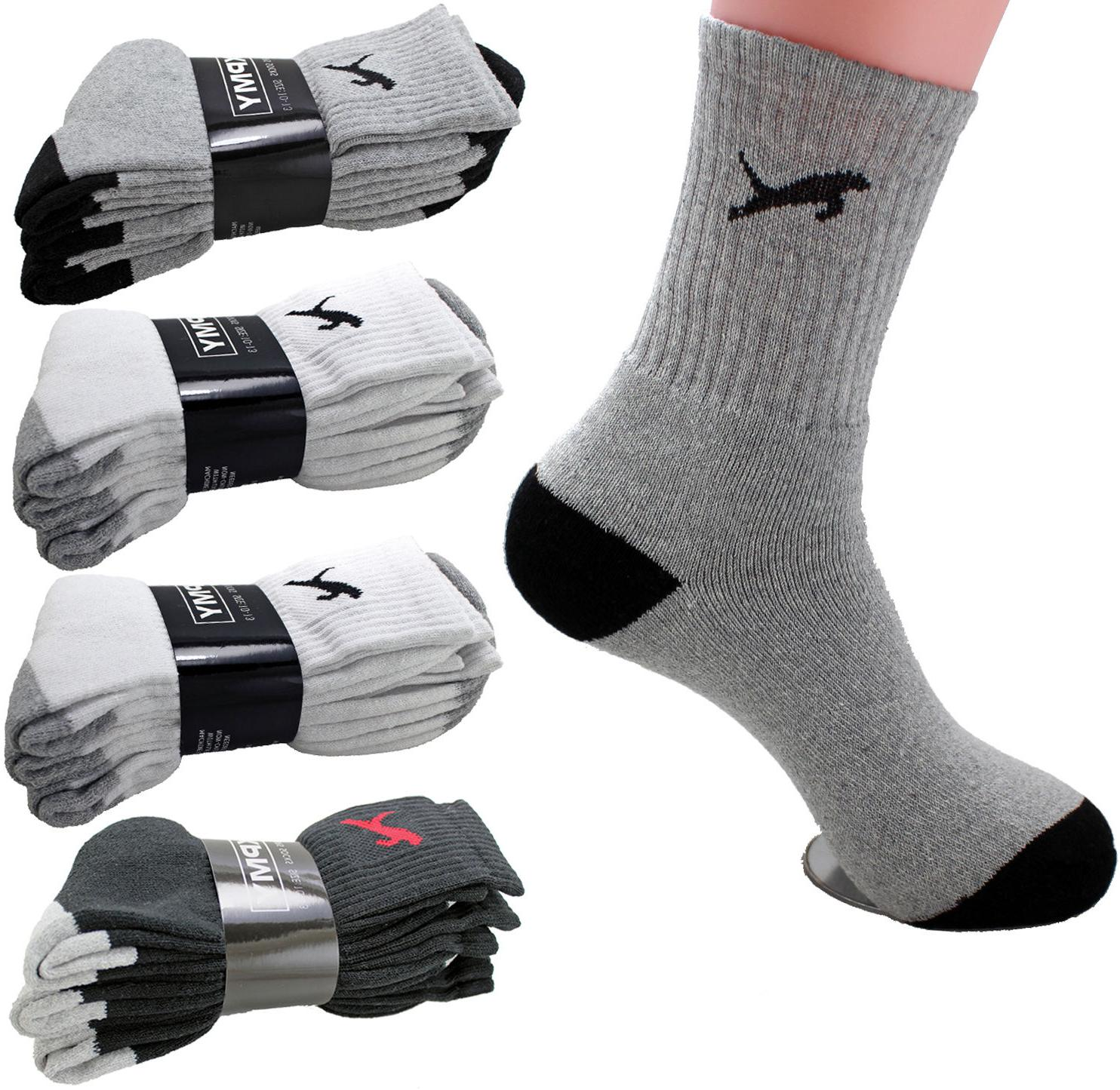 new 3 6 12 pairs mens sports