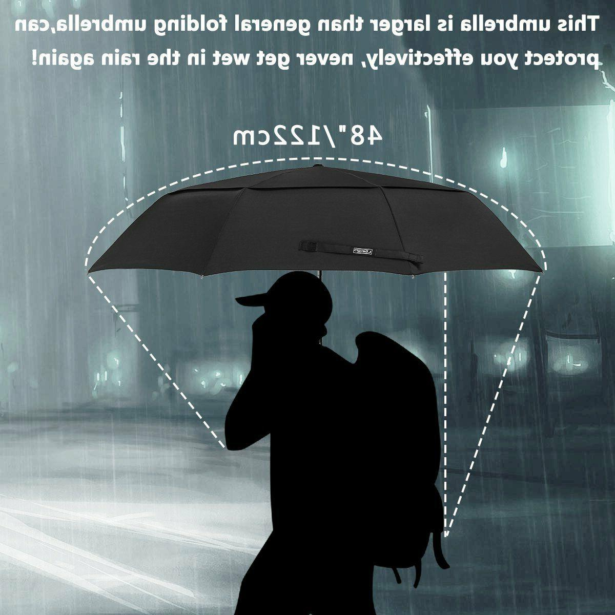 NEW In Large CompactFoldingGolfUmbrellaTravel Umbrella-