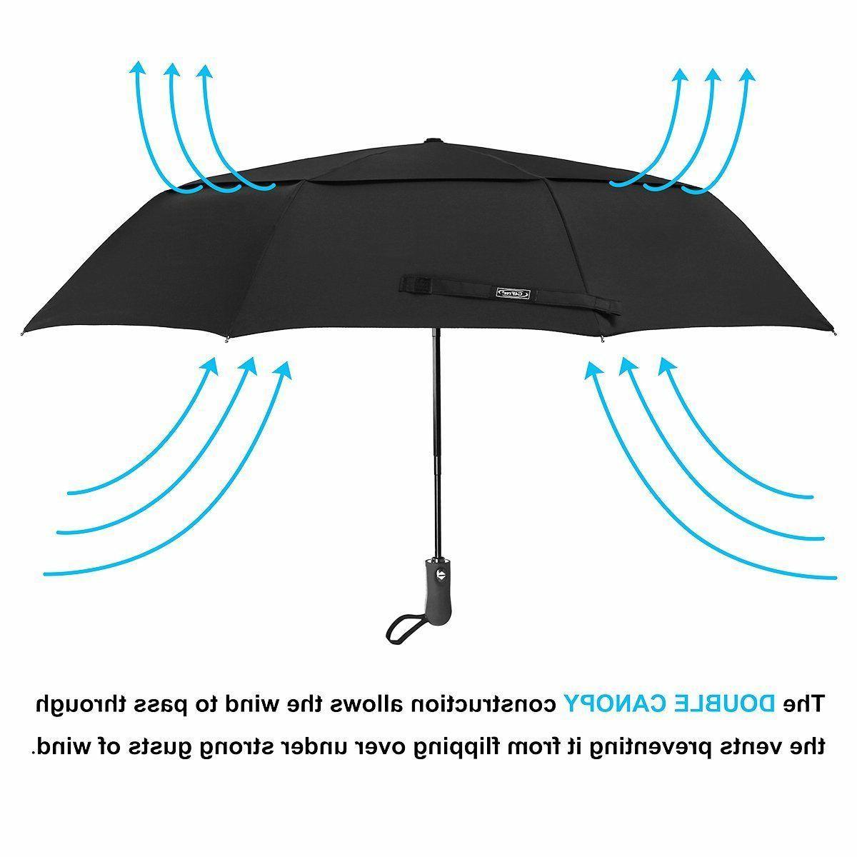NEW In CompactFoldingGolfUmbrellaTravel Umbrella- Men/Women