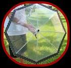 NEW FULL SIZE SUN & RAIN PROTECTION UMBRELLA BUMBERSHOOT CLE