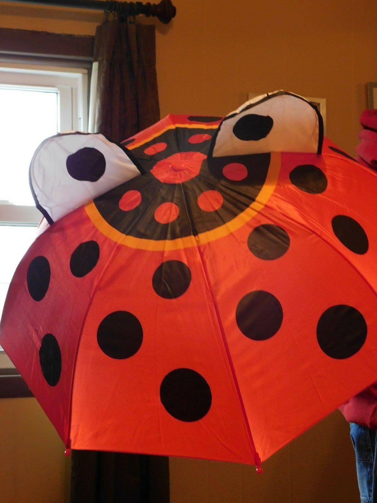 NEW RAINSTOPPERS LADY BUG  DESIGN CHILDREN'S UMBRELLA