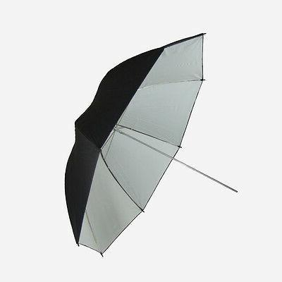 new pro 42in umbrella white black steve