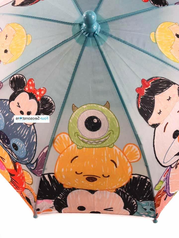 New Disney TSUM Characters umbrella for girls Kids
