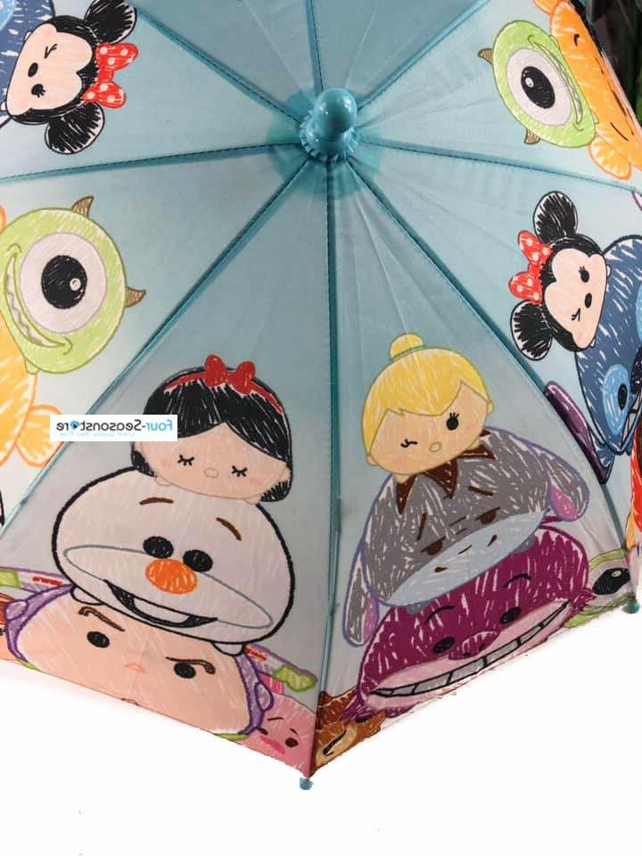 New Characters umbrella Umbrella for girls