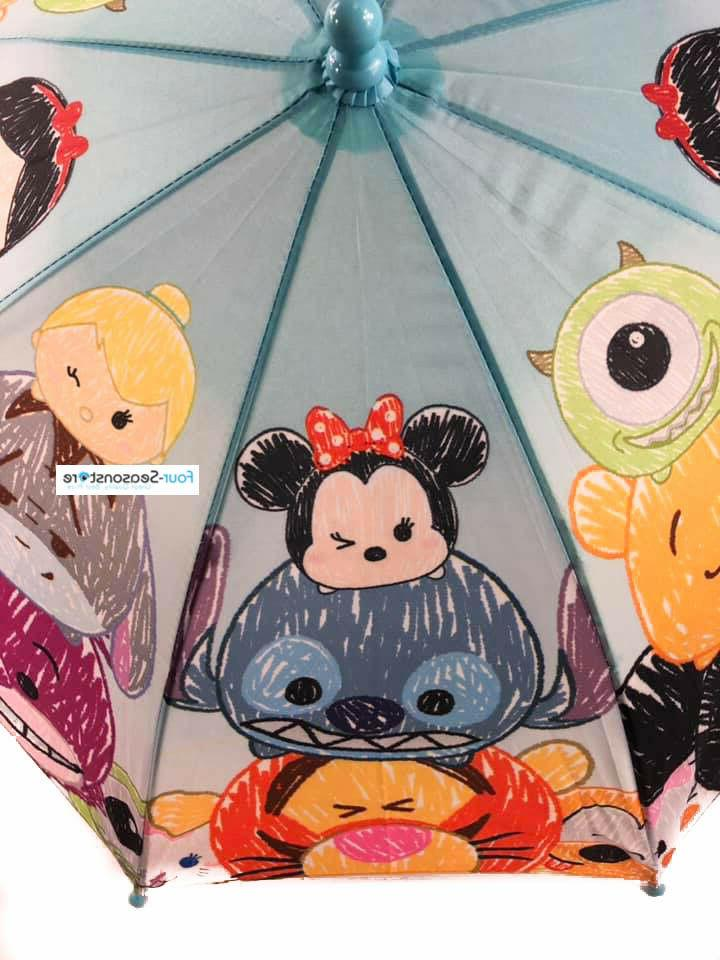 New Characters umbrella Molded for Kids