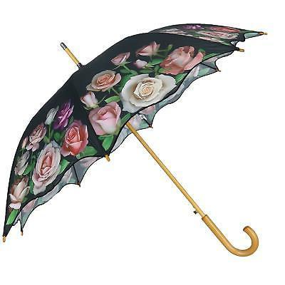 New CTM Open Print Umbrella
