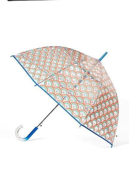 NWT SHEDRAIN The Bubble Auto Open Stick Umbrella $34