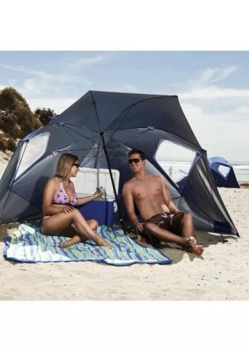 outdoor beach umbrella canopy sun shade protection