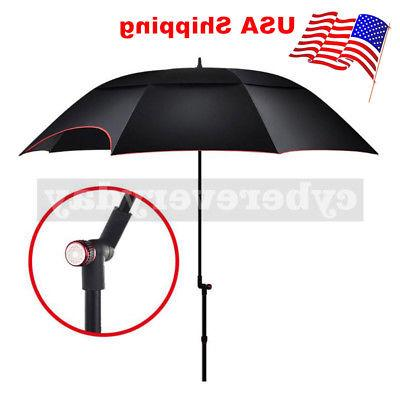 Outdoor Dual Layer Beach Canopy Sun Umbrella Portable Fishin