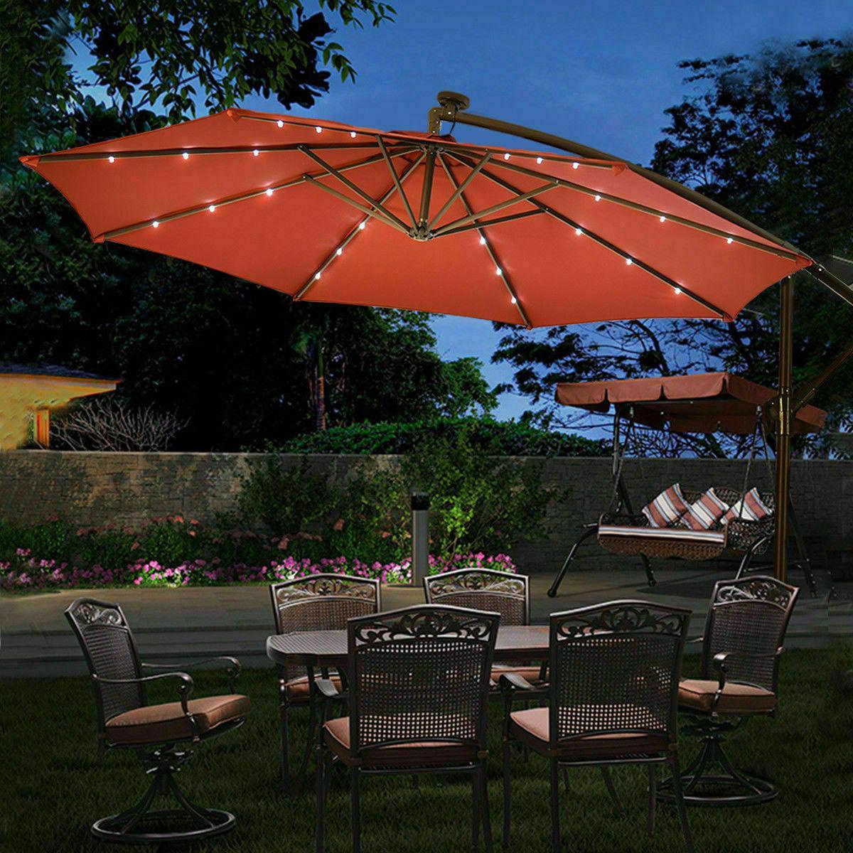 outdoor patio umbrella market tilt garden sunshade