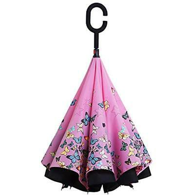 Owen Kyne Umbrellas Double Layer Inverted Umbrella,