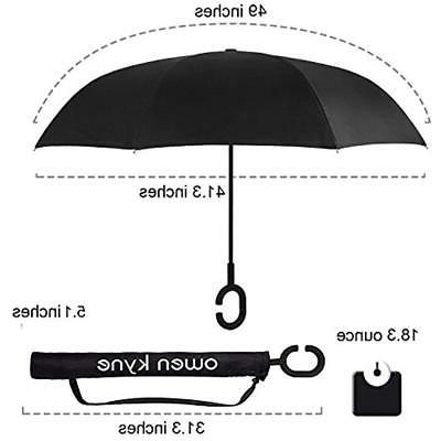 Owen Double Umbrella, Self Stand
