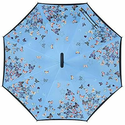 Owen Double Layer Folding Inverted Umbrella,