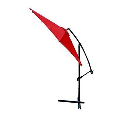 patio umbrella offset 10 hanging umbrella outdoor