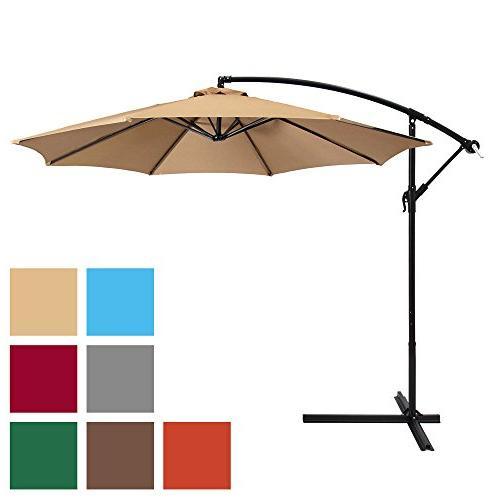 patio umbrella offset hanging