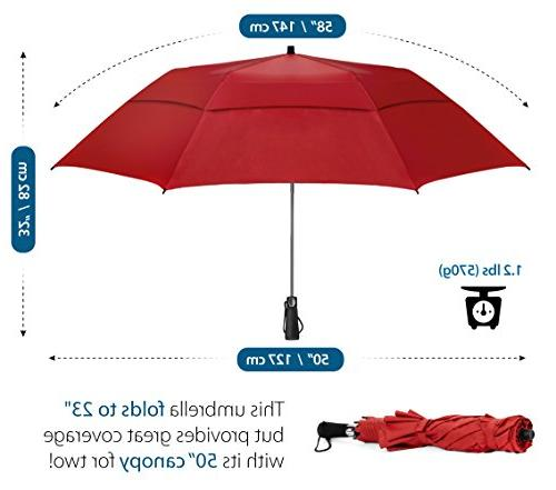 EEZ-Y Golf Double Open Umbrellas