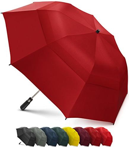 portable golf umbrella windproof double