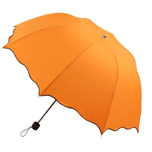 Portable Windproof Umbrella Sun Rain 3 Compact