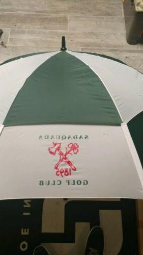 "GustBuster Series 68"" Dual Umbrella"