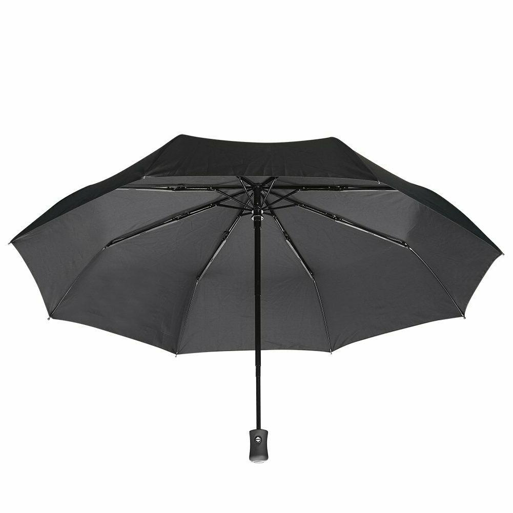Anti-UV Sunproof Parasol Foldable Rain Umbrella Sunshade Aut