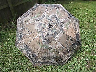 Realtree Camouflage 68 inch JUMBO golf umbrella covers 3 adu