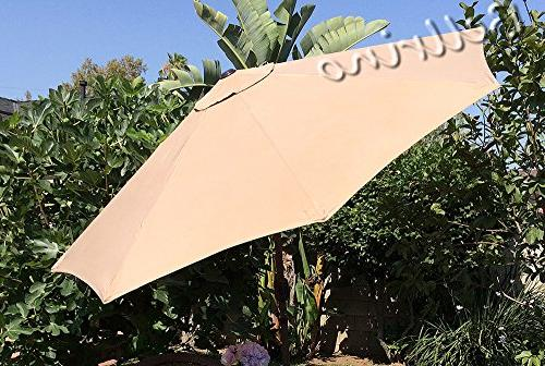 BELLRINO Replacement Canopy for 9ft TAN/SAND