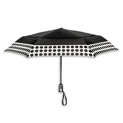 ShedRain Auto Open/Close Air Vent Compact Umbrella - Black P