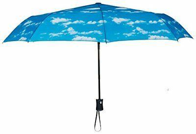 Crown Cloud Pattern Travel Umbrella 60 MPH