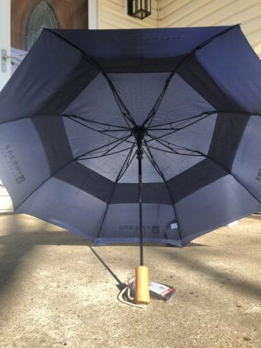 StrombergBrand Top Umbrella with Wood