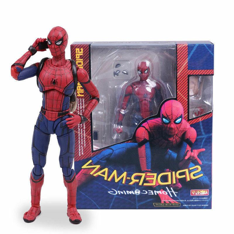 spider man homecoming spiderman pvc action figure