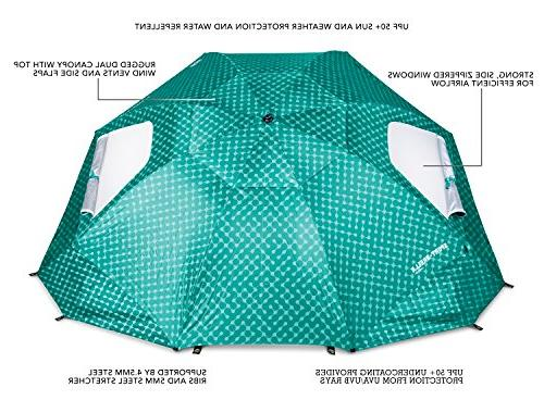 Sport-Brella Portable All-Weather & Turquoise