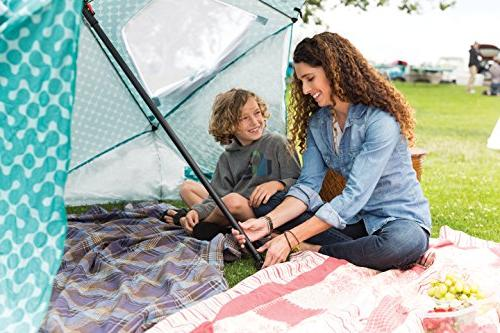 Sport-Brella All-Weather Sun Canopy, Turquoise