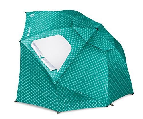 Sport-Brella Sun Umbrella, 8-foot Turquoise