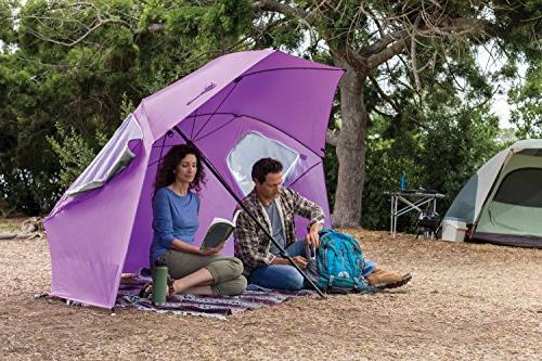 Sport-Brella Super-Brella - Portable Sun & Shelter, Fuchsia
