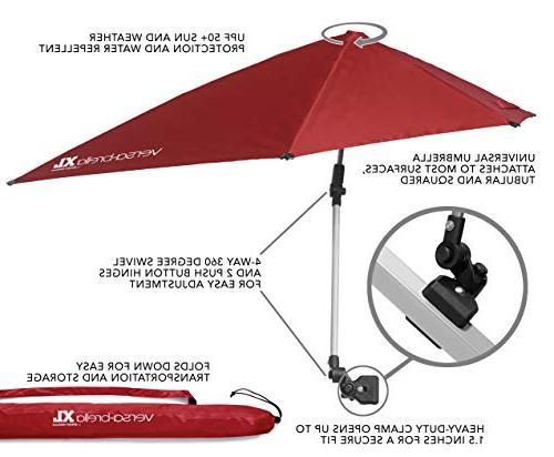 Sport-Brella Versa Brella Universal Umbrella FireBrick