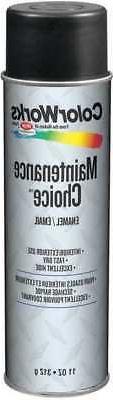 KRYLON INDUSTRIAL CWBK00100 Spray Paint,Gloss Black,11 oz.,1